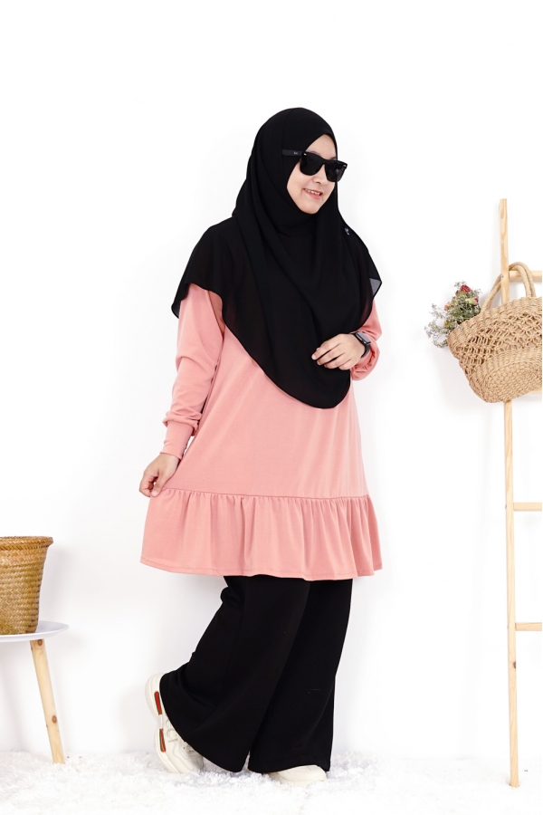 Maryam Blouse - Peach Lembut